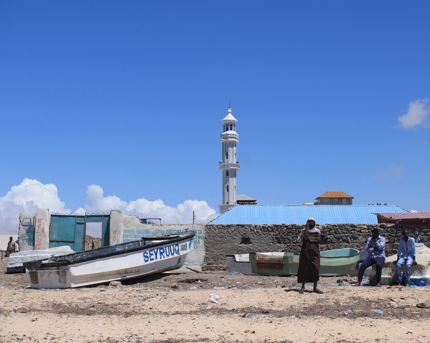 Fact Fishing in Kismayo – Going Places Africa